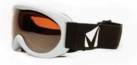 New STAGE PG Junior Goggles White Flexible Frame UVA UVB PROTECTION Chil... - $28.04