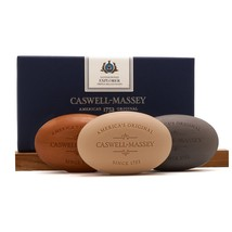 CASWELL - MASSEY SANDALWOOD EXPLORER THREE-SOAP SET - 5.8oz/164gm Bars - $59.95