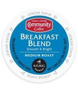 Community Coffee Breakfast Blend Coffee 18 to 90 Keurig K cup Pods Pick ... - $18.99+