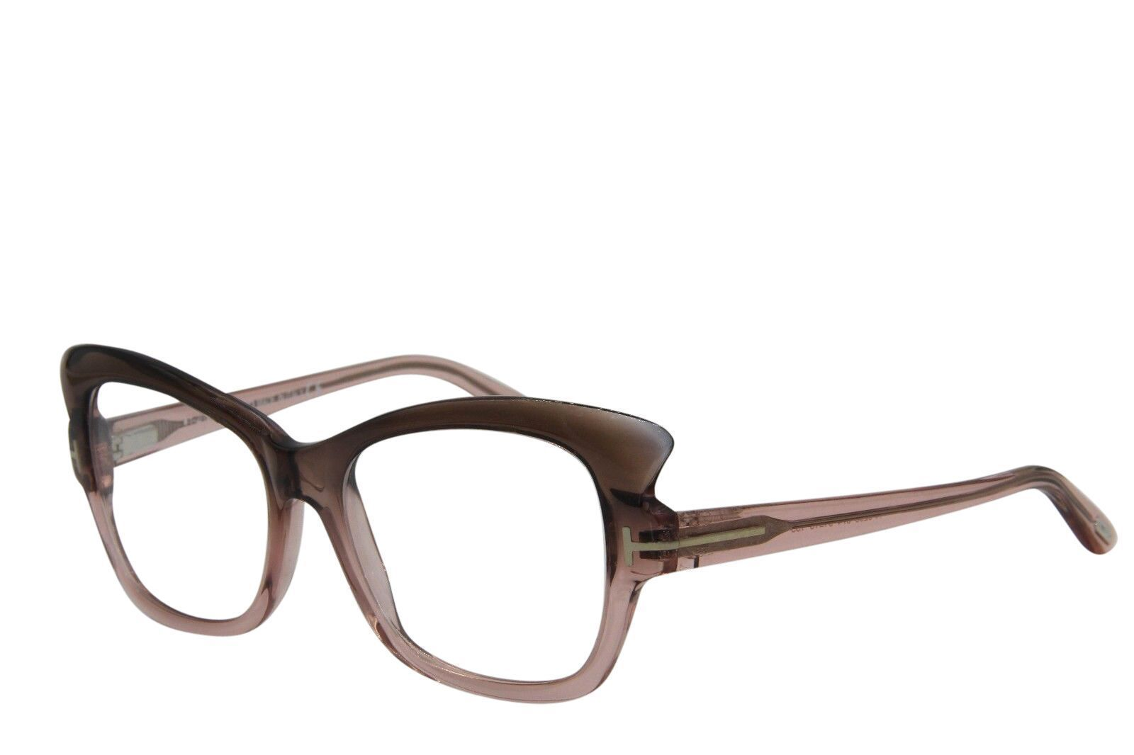 BRAND NEW TOM FORD TF 5268 074 BROWN EYEGLASSES AUTHENTIC FRAME RX TF5268 51-16