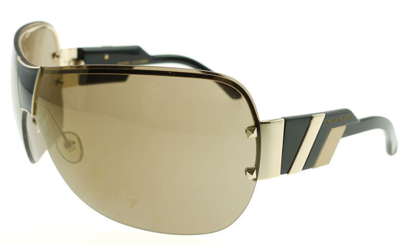 MARC JACOBS 200 OZS Gold Black Tan / Brown Sunglasses  - $48.51