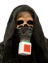 Survivor Mask Skull Biohazard Rotting Scary Hood Halloween Costume Party... - $96.77 CAD