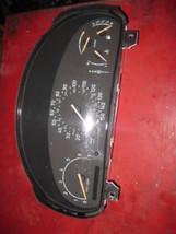 00 01 99 saab 9-3 A/T speedometer instrument cluster - $24.74