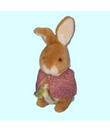 "Vintage Eden Toys Peter Rabbit Mopsy Bunny Beatrix Potter Plush Toy 10"" - $12.87"
