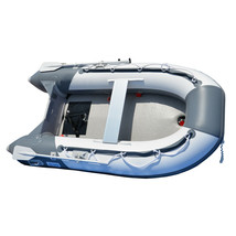 BRIS 8.2 ft Inflatable Boat Pontoon Dinghy Raft Boat With Air-deck Floor image 2