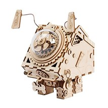ROKR DIY Music Box Kit with a Lovely Song-Wind Up Music Box Mechanism-3d... - $31.90
