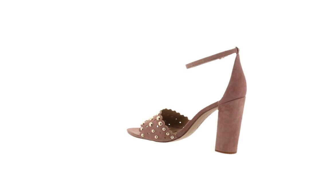 Sam Edelman Yaria Suede Sandal Studs ROSE 7.5 NEW 614-199