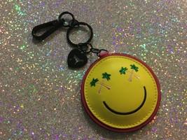Victoria's Secret PINK palm tree smiley w/ mirror keychain New - $9.49