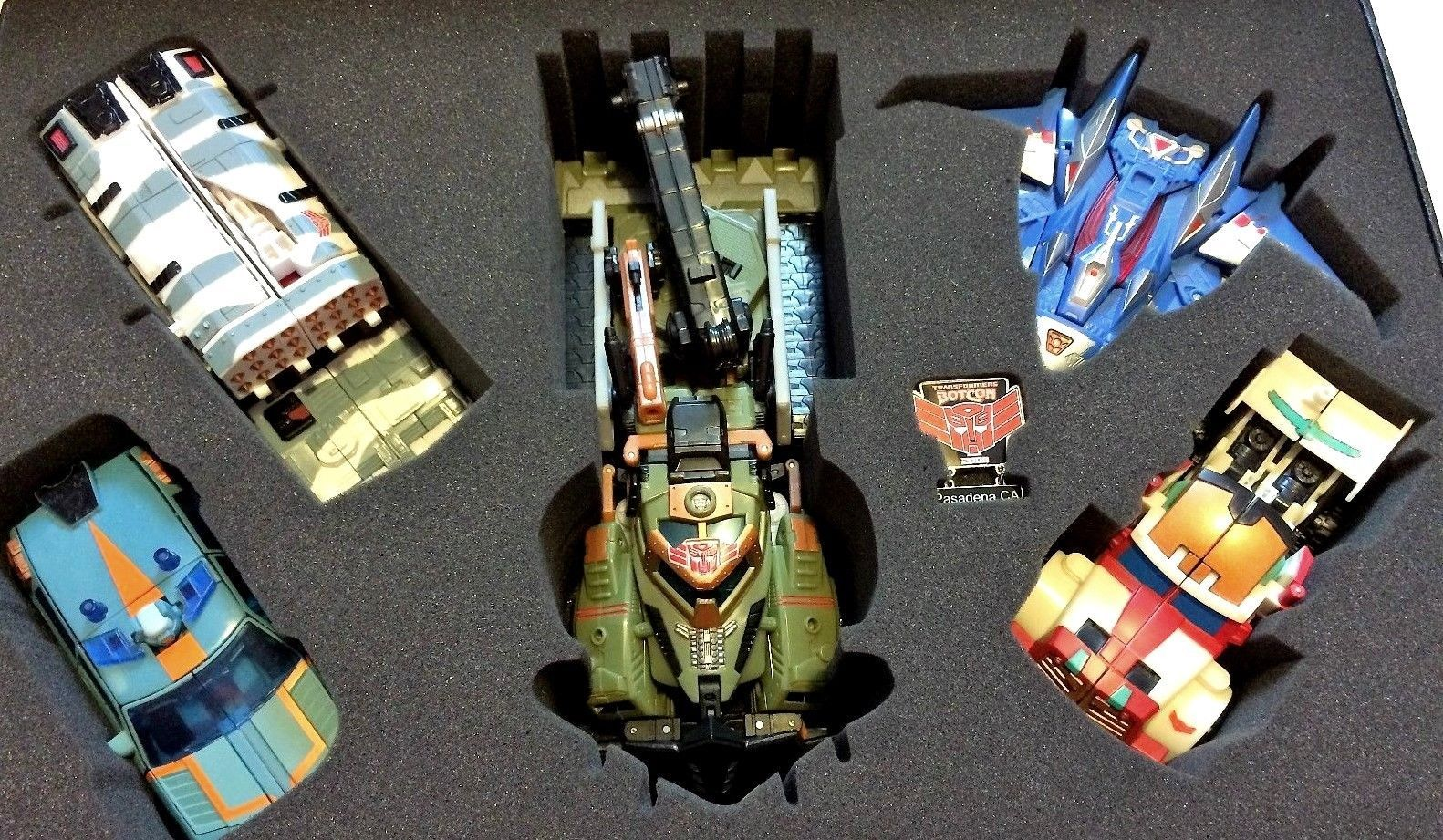 Transformers Botcon Exclusive 2009 TIMELINES WINGS OF HONOR Box SET w/ CERT AUTH image 4