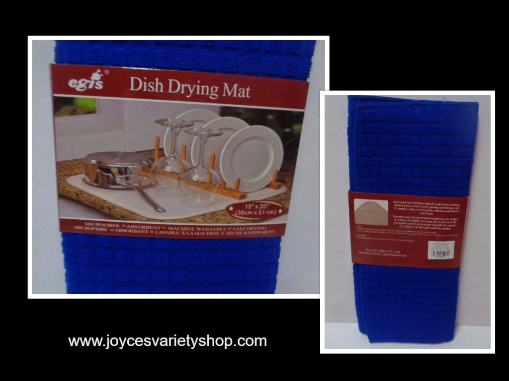 Blue dish mat collage 2017 08 24