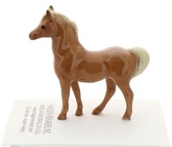 Hagen-Renaker Miniature Ceramic Horse Figurine Tiny Chestnut Stallion - $8.49
