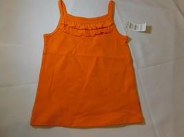 The Children's Place Baby Mädchen Spaghetti Trägerhemd Top Monate Orange Nwt Neu - $13.44