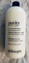 Philosophy Purity Made Simple One-Step Facial Cleanser 946ml 32oz - $52.95