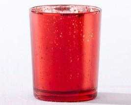 Red Mercury Glass Tea Light Holder (Set of 4) - $13.32