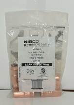 Nibco 9008105PC PC600 2 Wrot Copper Fitting Reducing Coupling 3/4 Inch by 1/2 image 1