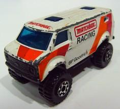 Vintage • Matchbox • 1981 • BF Goodrich Racing • 4x4 Chevy Van • Made in Macau - $4.99