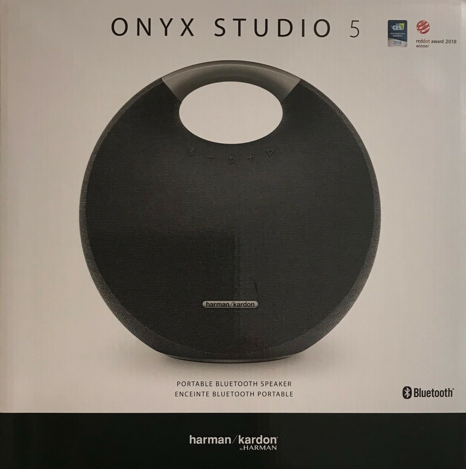 Primary image for Harmon Kardon Onyx Studio 5 Portable Wireless & Bluetooth Speaker in Black
