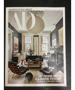 New AD Architectural Digest Magazine At Home with Julianne Moore Novembe... - $12.86