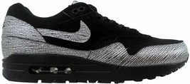 Nike Air Max 1 Premium Black/Metallic Hematite-Black 454746-005 Women's Size UK - $76.80+