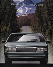 1996 Chevrolet CAPRICE CLASSIC sales brochure catalog 96 Chevy - $8.00