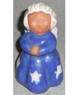 RARE 1940s Lichten Ware ANGEL SISTER Red Clay Figurine MADE IN USA - $98.99