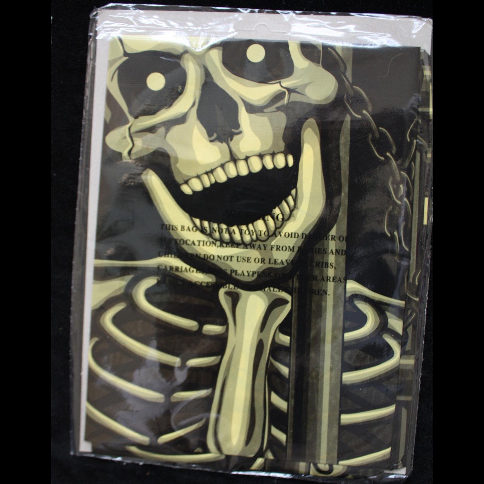 Gothic-SKELETON PRISONERS DOOR COVER MURAL-Halloween Party Decoration Prop-30x60