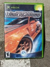 Need for Speed Underground Original Xbox Game 2003 EA - $8.89