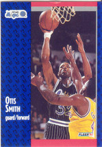 Otis Smith ~ 1991-92 Fleer #149 ~ Magic - $0.05
