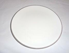 "Wedgwood SALAD PLATE DORIC with Platinum rim  8"" Fine Bone China  England - $4.75"