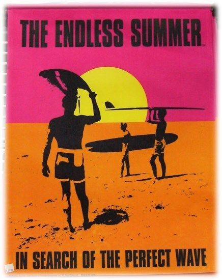 Primary image for Endless Summer Surfer on the Beach with Sunset Canvas