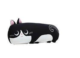 PANDA SUPERSTORE Back Cushion Back Support Pillow Cartoon Style(Black Cat)