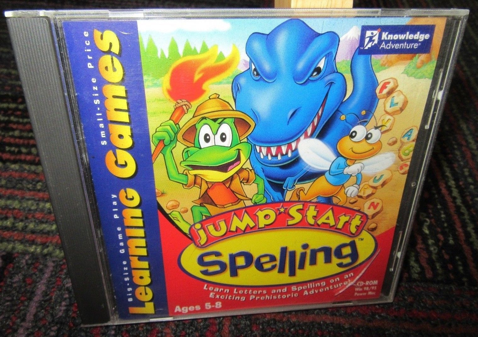 Jump Start Spelling Pc Cd Rom Learning And 50 Similar Items