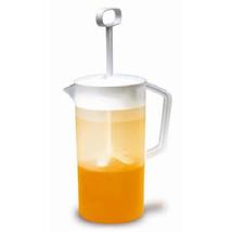 2 Quart Mixing Pitcher Juice Lemonade Cold Beverage Plastic Dispenser Ju... - $22.19