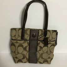 Coach shoulder bags handbags Signature Brown/Tan - $44.10