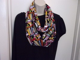 Bookworms, Readers  or Booklovers Infinity Scarf Great Gift for Readers - $17.64