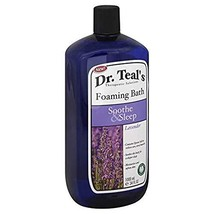 Dr. Teal's Foaming Bath, Soothe & Sleep with Lavender 34 fl oz by Dr. Teal's image 1