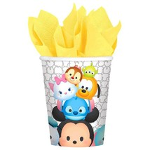 Disney Tsum Tsum 8 9 oz Hot Cold Paper Cups Birthday Party - $4.55