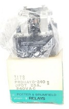 Nib Amf Potter & Brumfield PRD11AY0 Relay 240V, 50/60HZ, 25A, PRD11AY0240 - $29.95