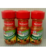 (3) Pack McCormick Perfect Pinch Salad Supreme 2.62 oz. New Sealed Exp 0... - $22.23