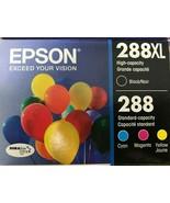 Epson -T288XL-BCS - DURABrite Ultra Ink Cartridge - Black, Cyan, Magenta... - $79.15