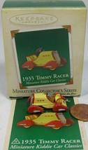 Hallmark Keepsake Kiddie Car Classics 1935 Timmy Racer Miniature 2005 - $13.99