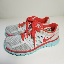 Nike Flex Womens 6 Running Shoes Gray Fitsole 2013 Run Athletic Sneakers  - $10.00