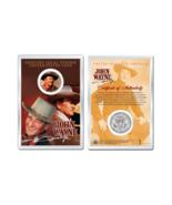 JOHN WAYNE - Chisum OFFICIAL JFK Half Dollar U.S. Coin in PREMIUM HOLDER - €9,21 EUR