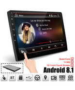 Car Multimedia Player 10.1'' Android 8.1 Car Stereo 2DIN Bluetooth WIFI ... - $138.71