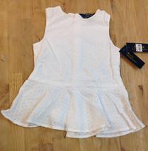 Ralph Lauren Girls Dress, White, Size 4 - $24.74