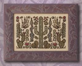Arranging Cacti cross stitch chart Ink Circles  - $6.00