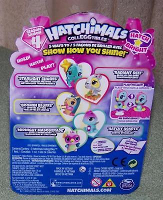Hatchimals Colleggtibles Season 4 Hatch Bright Mystery 2-Pack with Nest New