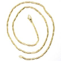 18K YELLOW GOLD CHAIN, 17.7 INCHES, ROUNDED TUBE LINK, THICKNESS 2 MM image 3