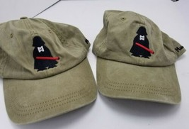Lot 2 Midwest Ducks CPD Hat Cap Strapback Adjustable Gray Hunting - $9.79