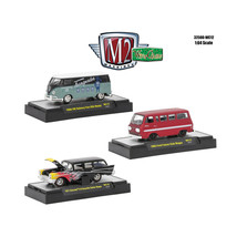 Wild Cards Set of 3 WITH CASES Release WC12 1/64 Diecast Model Cars by M... - $35.93